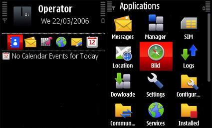 Nokia 5800 XpressMusic original theme.