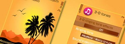 Download grátis do tema Palm Trees by NaHiD.