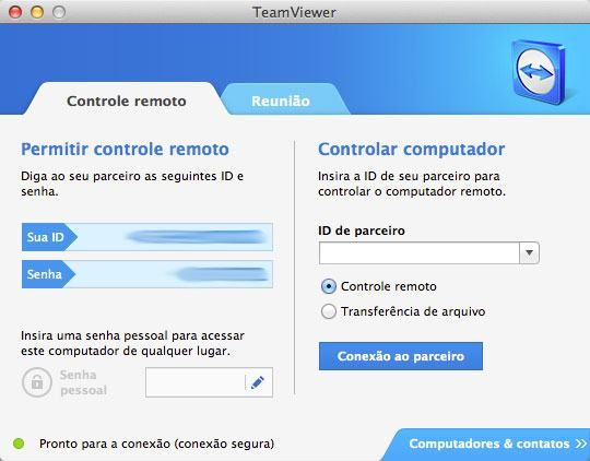 Passo a passo: configuração do TeamViewer
